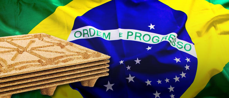 INKA pallet per esportazione in Brasile