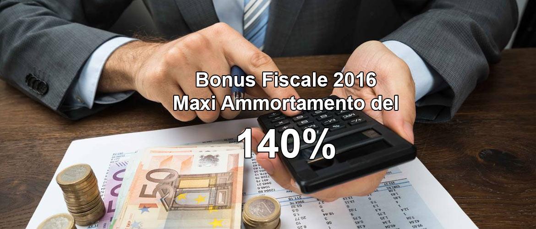 BonusFiscale Maxi Ammortamento 140%